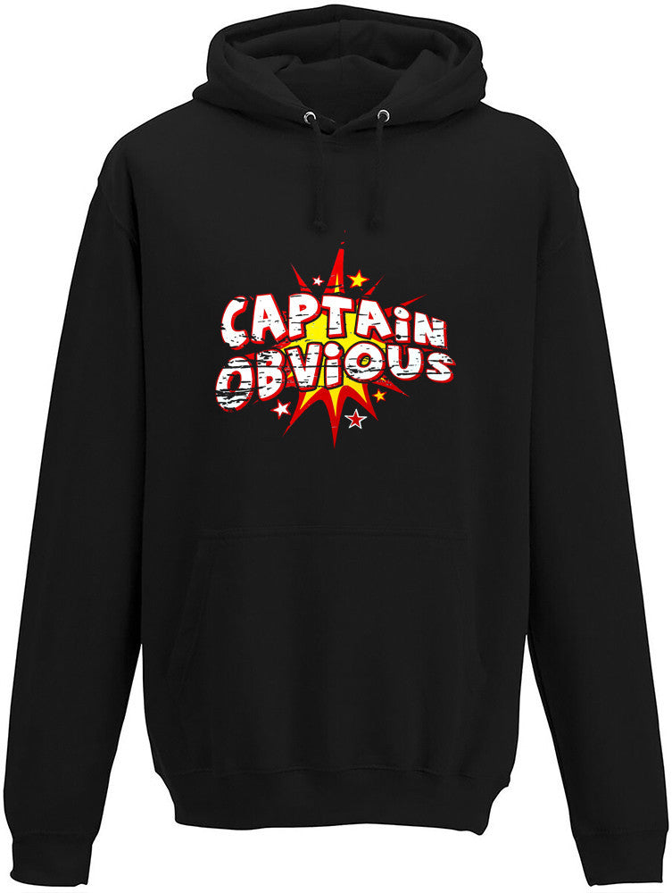 Captain Obvious Adults Hoodie