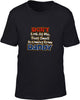 Don't look at me daddy Kids T-Shirt