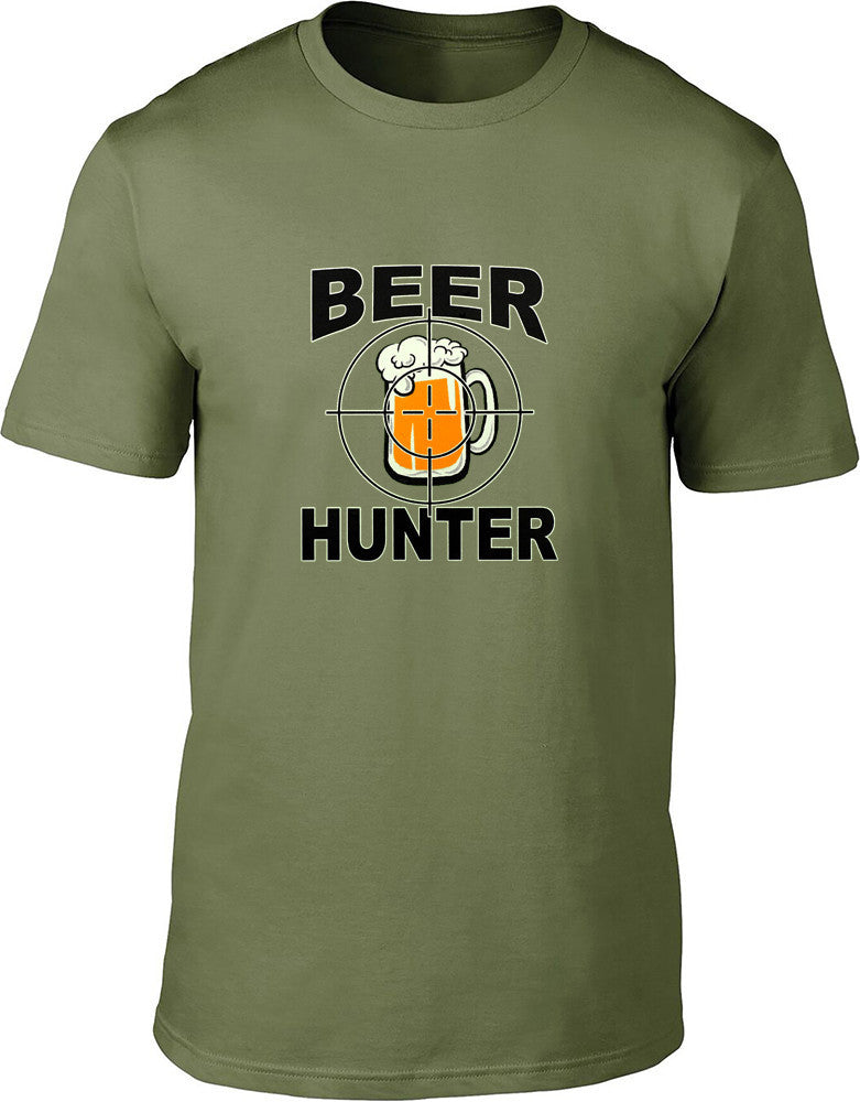 Beer Hunter Mens T-Shirt