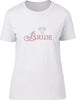 Bride Rhinestone Ladies T-Shirt