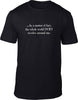 The World Does Revolve Around Me Mens T-Shirt