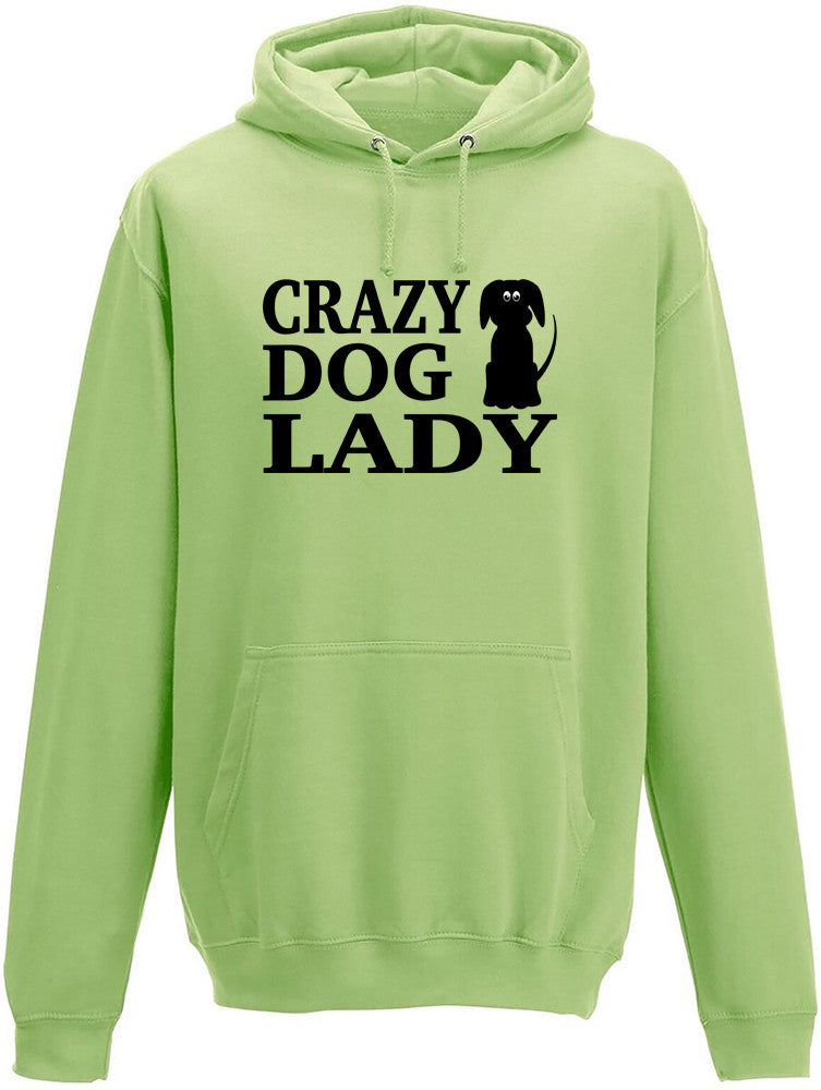 Crazy Dog Lady Adult Hoodie