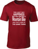 Your Can't Buy Happiness But You Can Buy A Mountain Bike Mens T Shirt