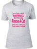 You Can't Buy Happiness But You Can Rescue A Cat Ladies T Shirt