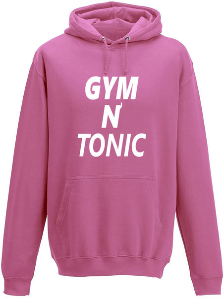 Gym N Tonic Adults Hoodie