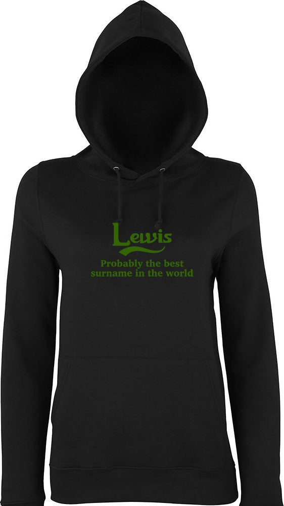 Lewis Probably The Best Surname In The World Kids Hoodie