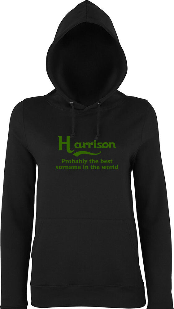 Harrison Probably The Best Surname In The World Kids Hoodie