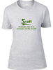Scott Probably The Best Surname In The World Ladies T Shirt