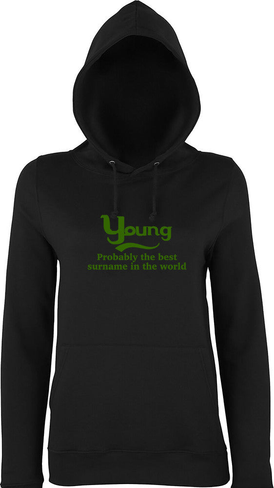 Young Probably The Best Surname In The World Kids Hoodie