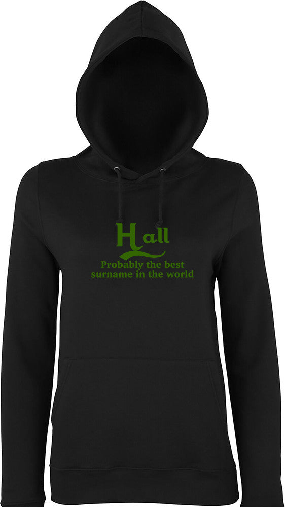 Hall Probably The Best Surname In The World Kids Hoodie