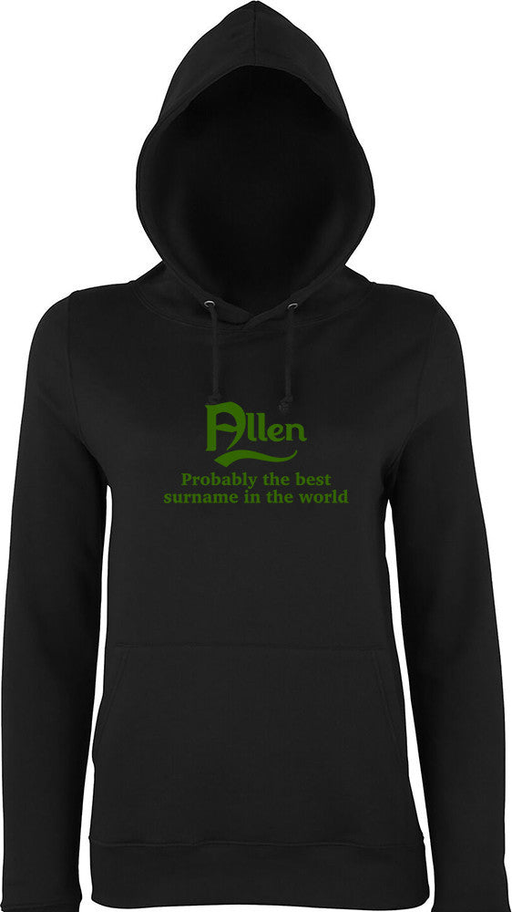 Allen Probably The Best Surname In The World Kids Hoodie
