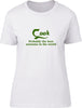 Cook Probably The Best Surname In The World Ladies T Shirt
