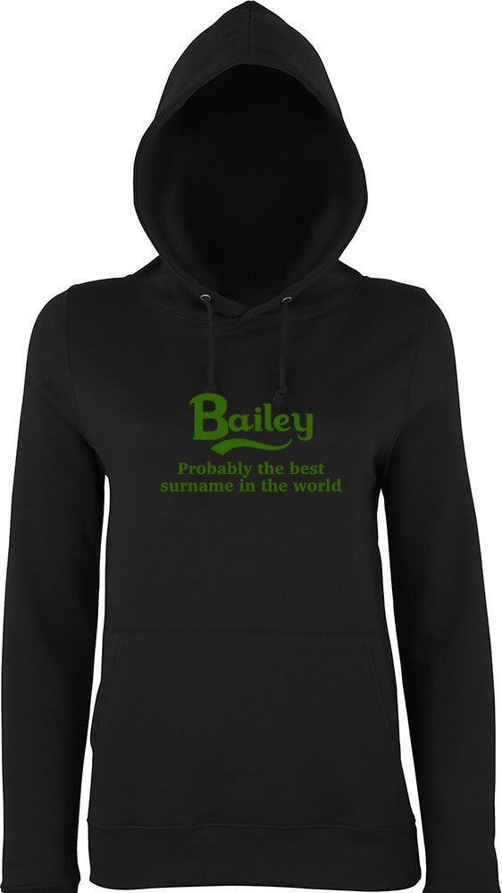 Bailey Probably The Best Surname In The World Kids Hoodie