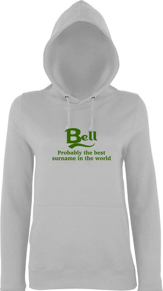 Bell Probably The Best Surname In The World Kids Hoodie
