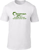 Chapman Probably The Best Surname In The World Mens T Shirt