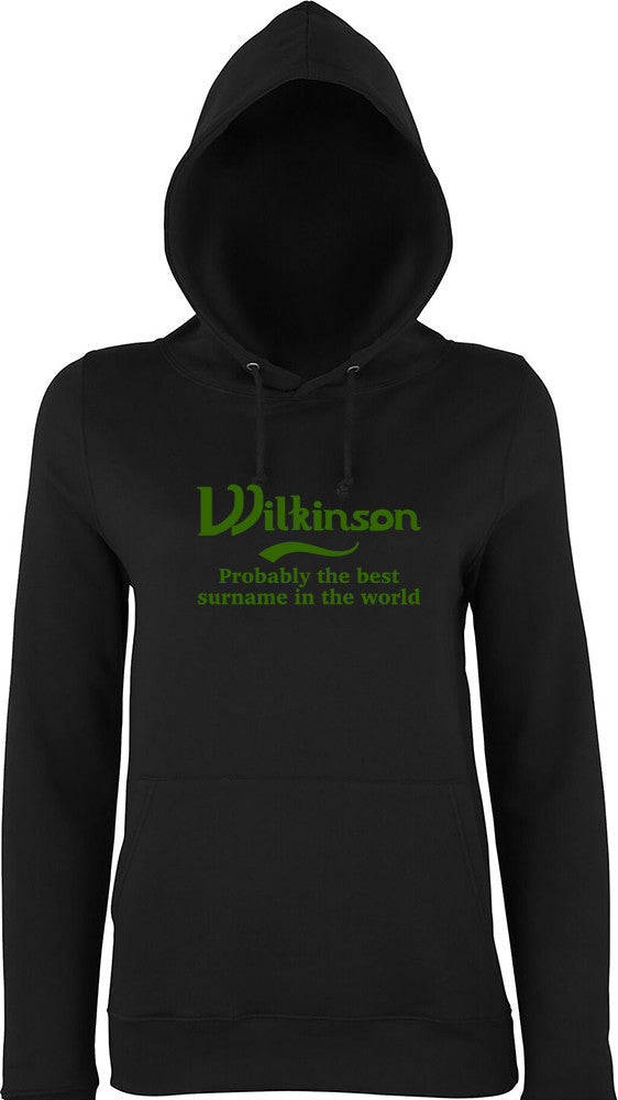 Wilkinson Probably The Best Surname In The World Kids Hoodie
