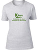 Khan Probably The Best Surname In The World Ladies T Shirt