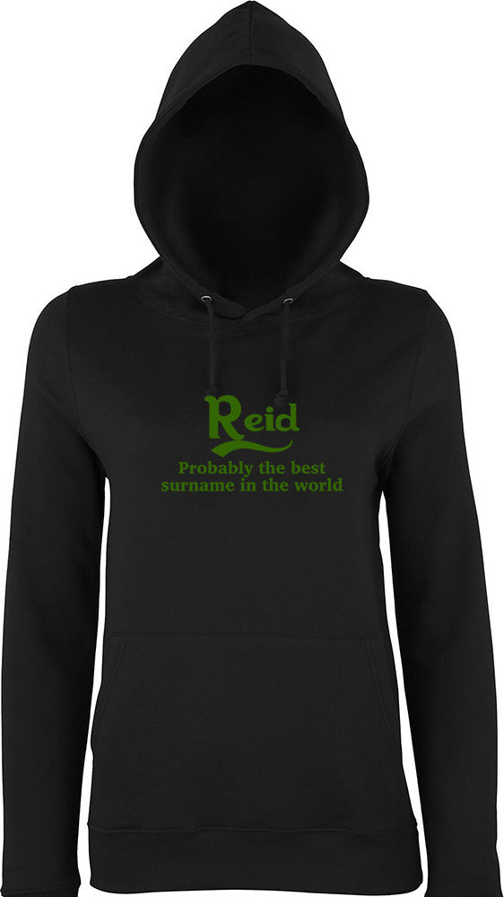 Reid Probably The Best Surname In The World Kids Hoodie