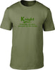 Knight Probably The Best Surname In The World Mens T Shirt