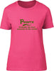 Pearce Probably The Best Surname In The World Ladies T Shirt