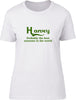 Harvey Probably The Best Surname In The World Ladies T Shirt