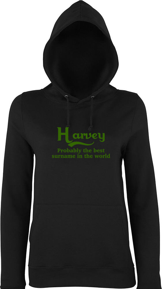 Harvey Probably The Best Surname In The World Kids Hoodie