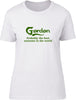 Gordon Probably The Best Surname In The World Ladies T Shirt