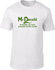 Mcdonald Probably The Best Surname In The World Mens T Shirt