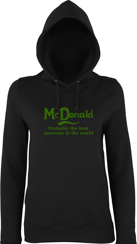Mcdonald Probably The Best Surname In The World Kids Hoodie