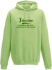 Johnston Probably The Best Surname In The World Adults Hoodie