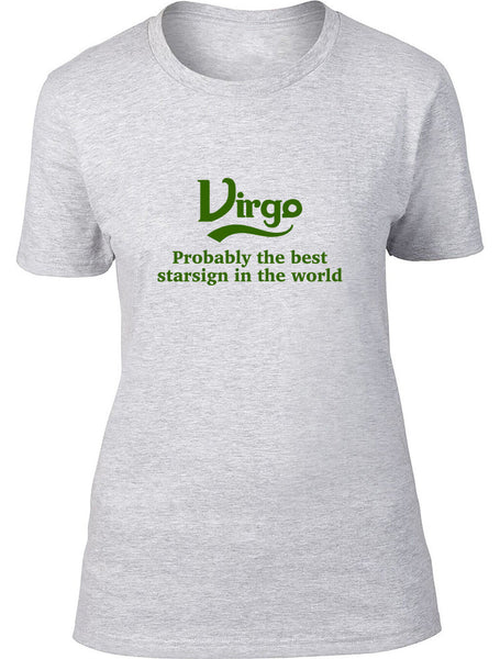 Virgo Probably The Best Star Sign In The World Kids T Shirt
