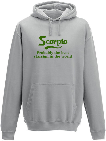 Scorpio Probably The Best Star Sign In The World Adults Hoodie