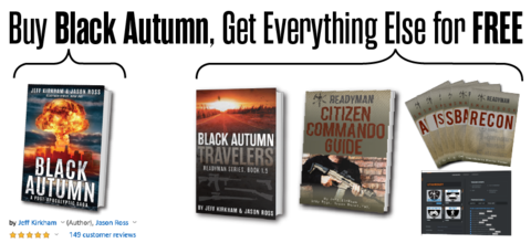 buy black autumn book, get everything else for free offer
