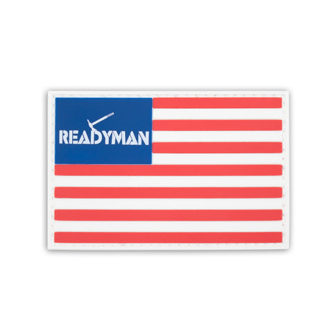 ReadyMan Flag PVC Patch