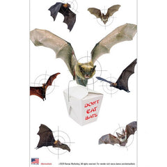 Don't Eat Bats Targets
