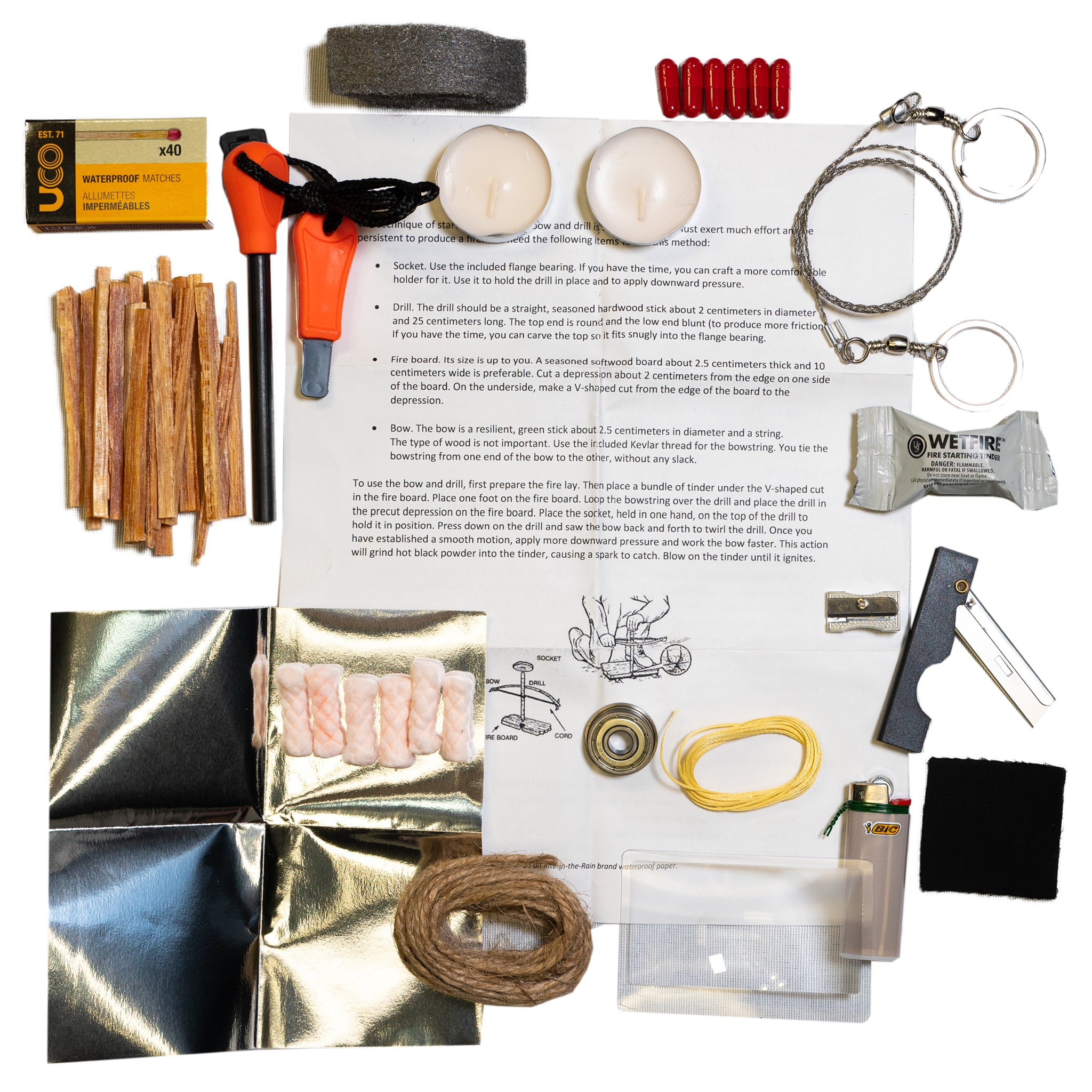 READY Fire Starting Kit