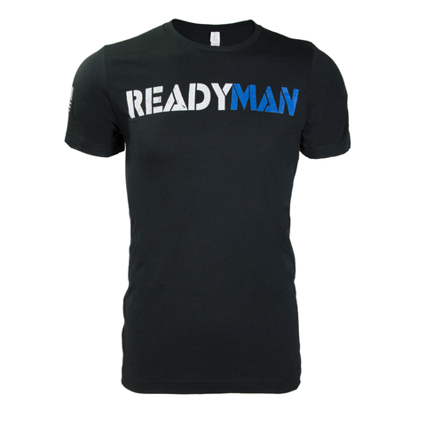 ReadyMan 2.0 T-Shirt Black