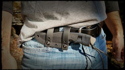 ForeRunner® Belt Knife (Paracord)
