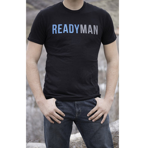 READYMAN - Black T-Shirt *SALE 50% OFF*