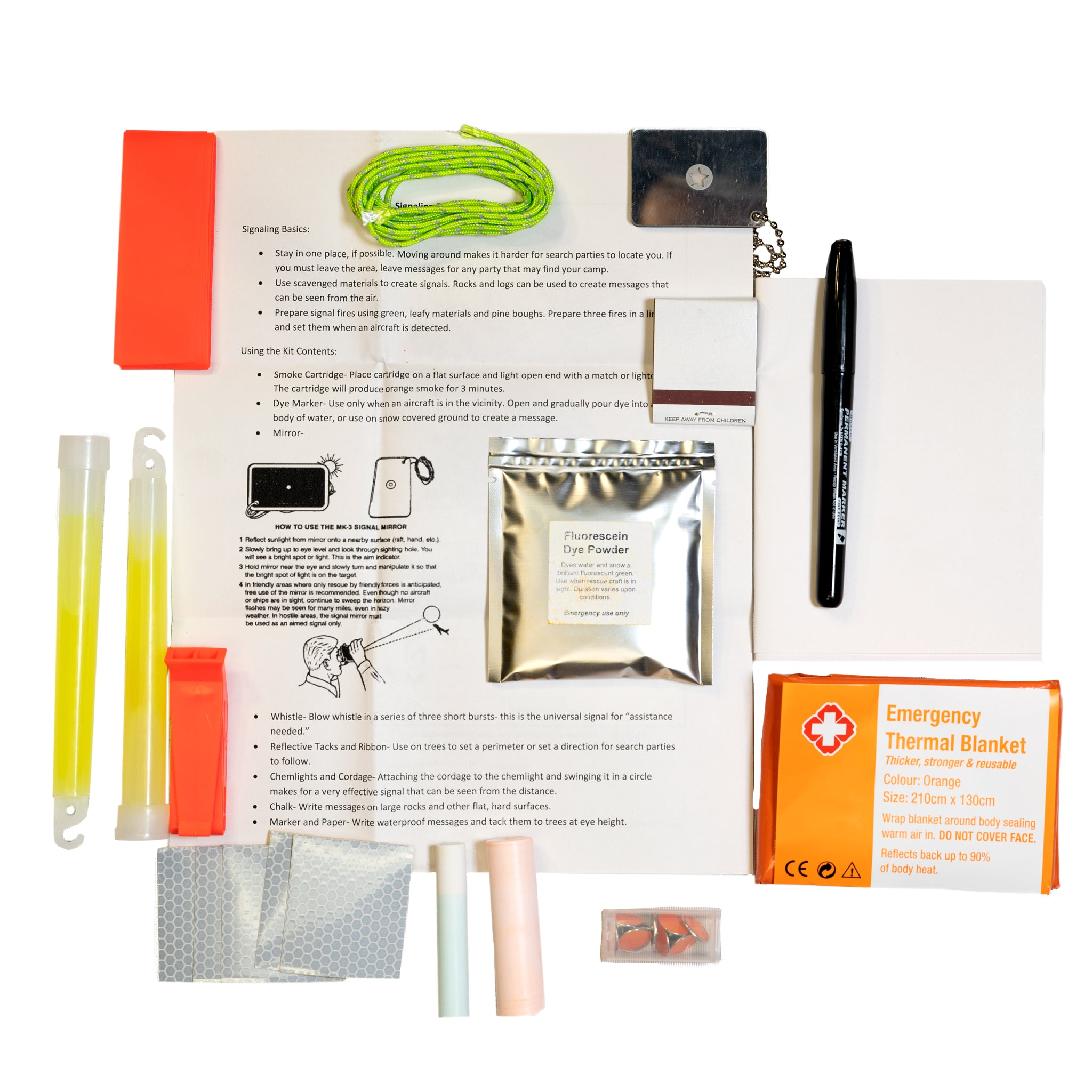 READY Emergency Signaling Kit