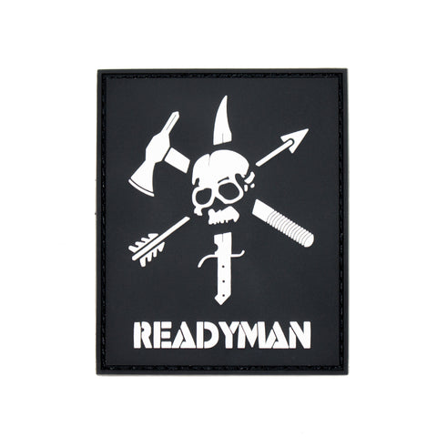 ReadyMan Skull PVC Patch