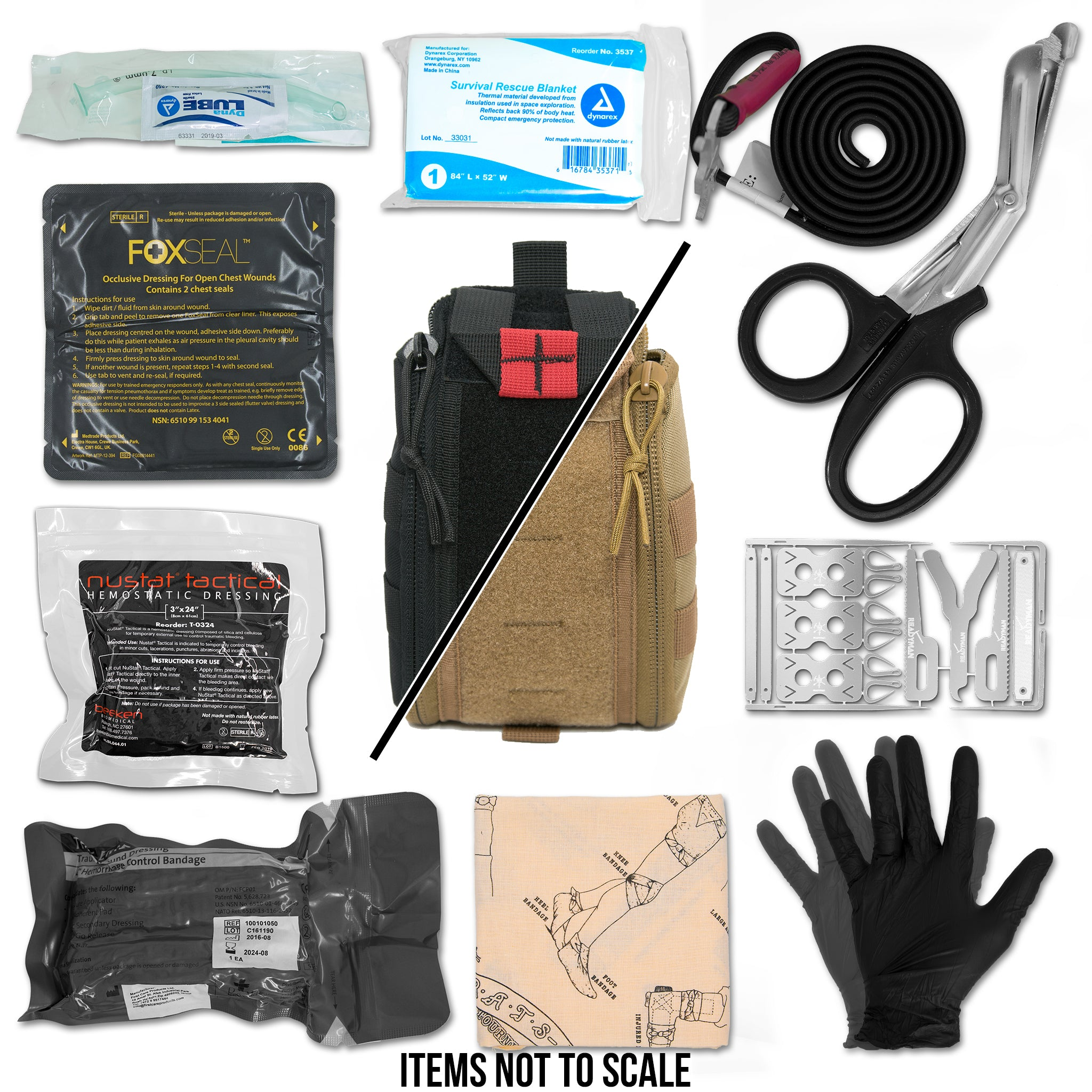 E-FAK Emergency First Aid Kit