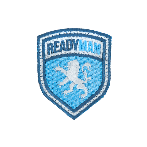 READYMAN Blue Shield Patch