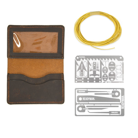 Leather Wallet Combo
