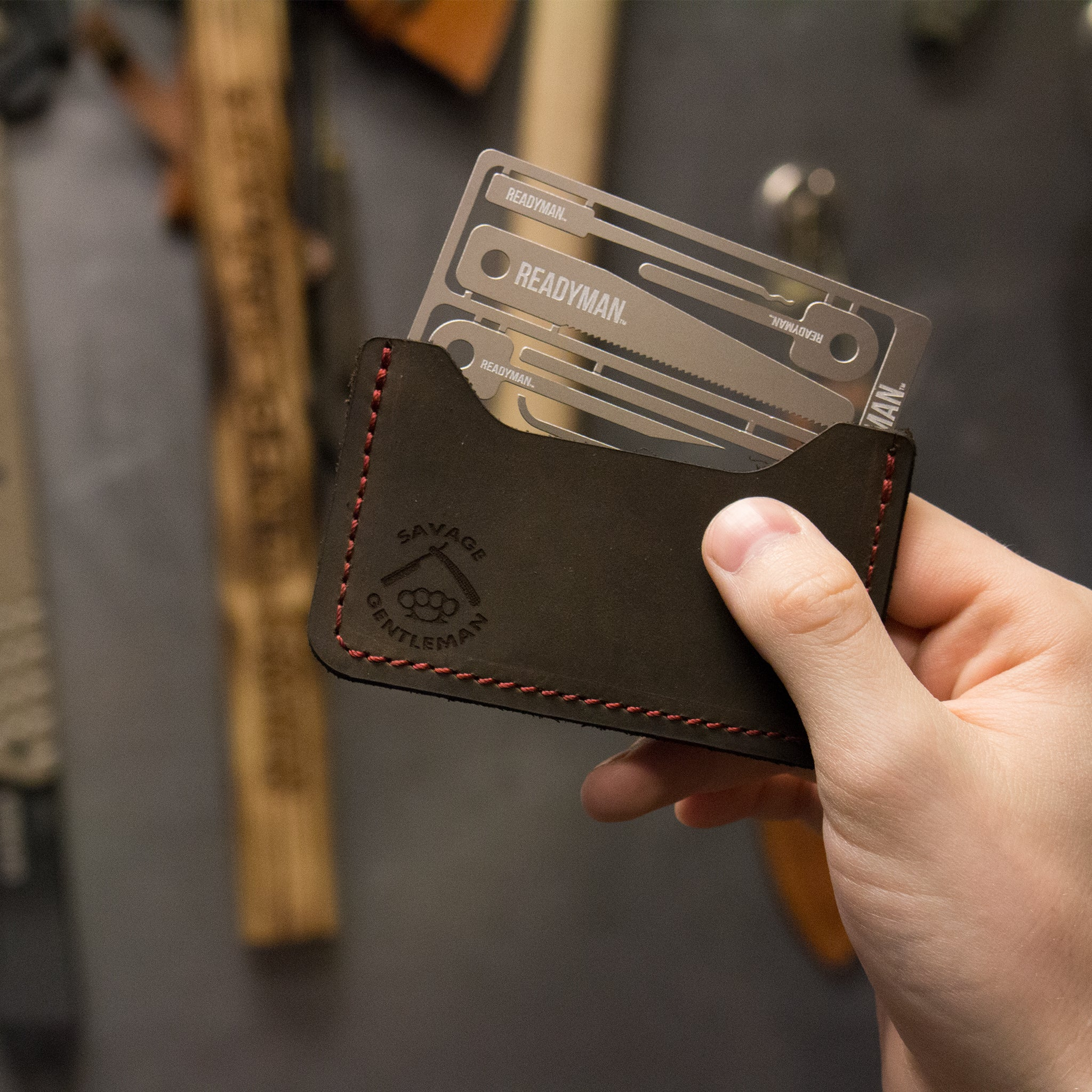 Savage Gentleman Wallet + Survival Card