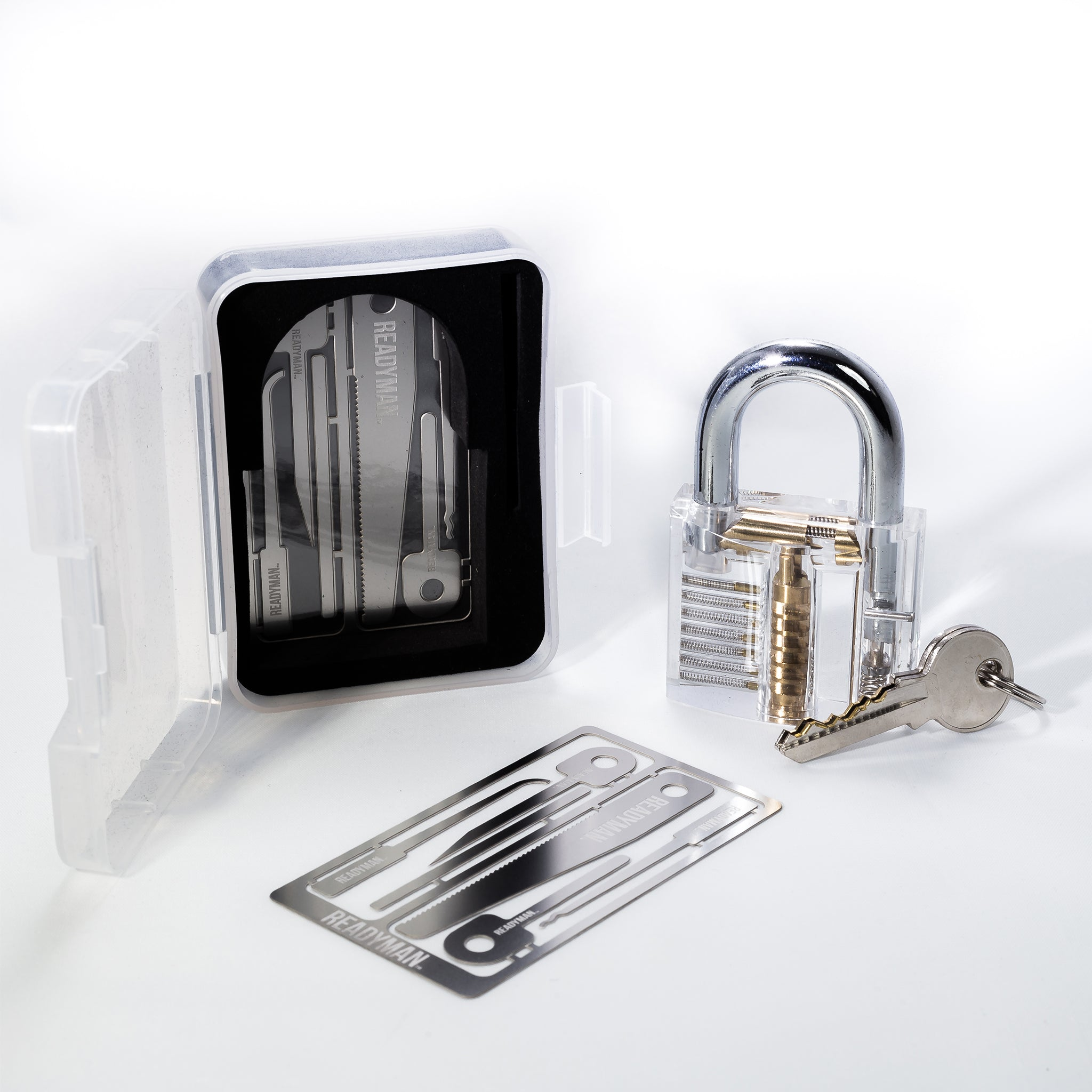 Acrylic Training Lock + 2 Hostage Escape Cards