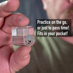Pocket Practice Lock + 2 Hostage Escape Cards