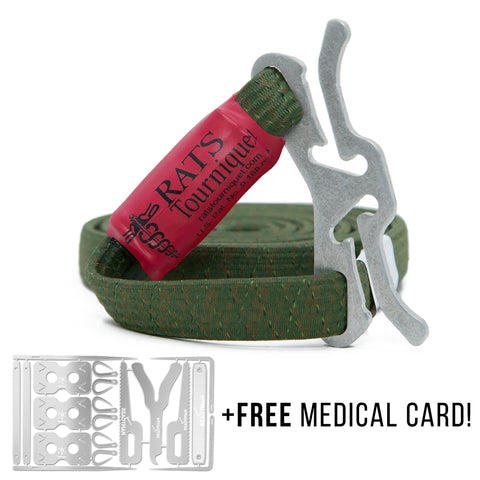RATS/READYMAN EXCLUSIVE (OD GREEN) with FREE Medical Card
