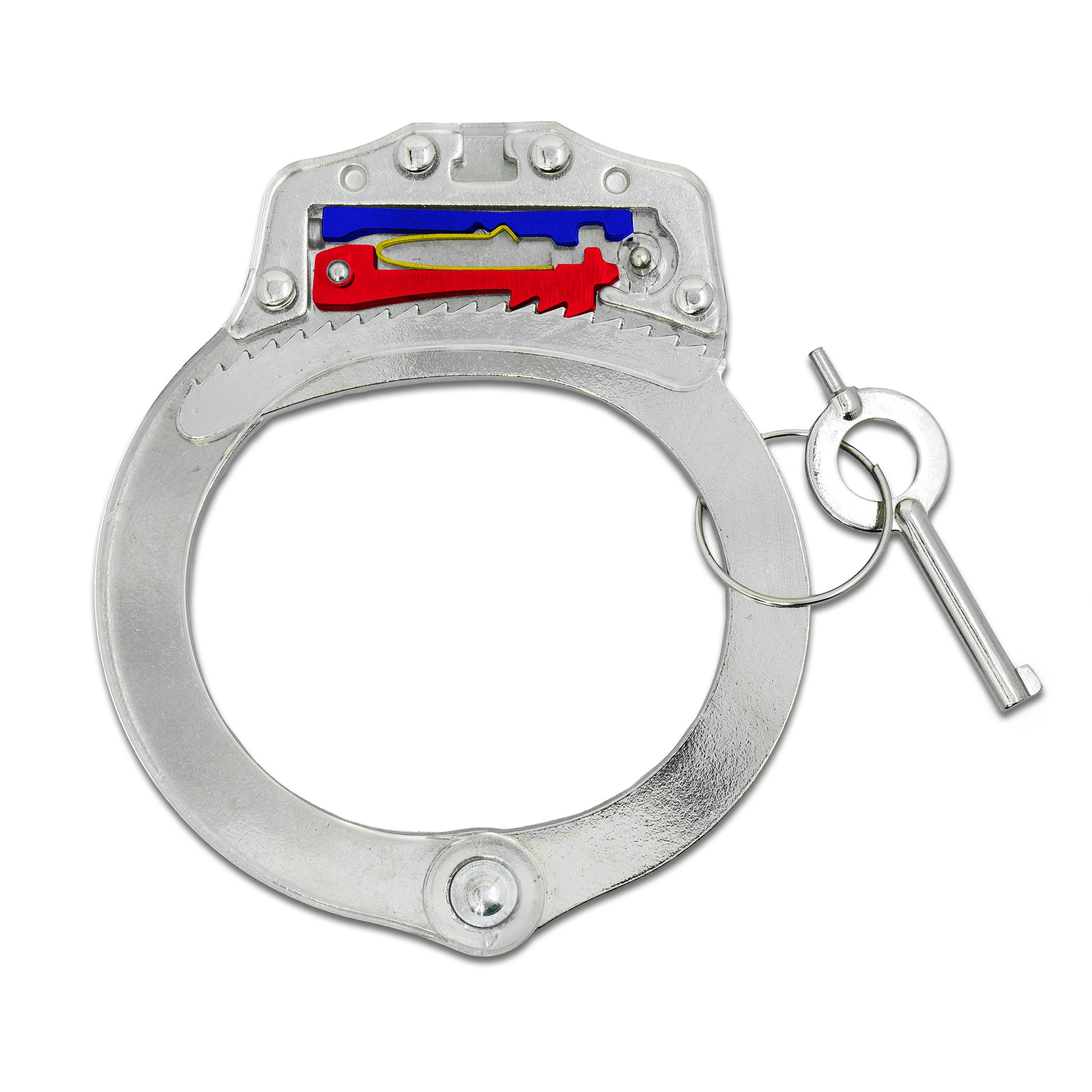 Acrylic Training Handcuffs + 2 Hostage Escape Cards