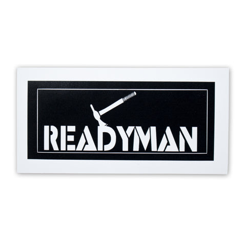 FREE READYMAN Tomahawk Sticker